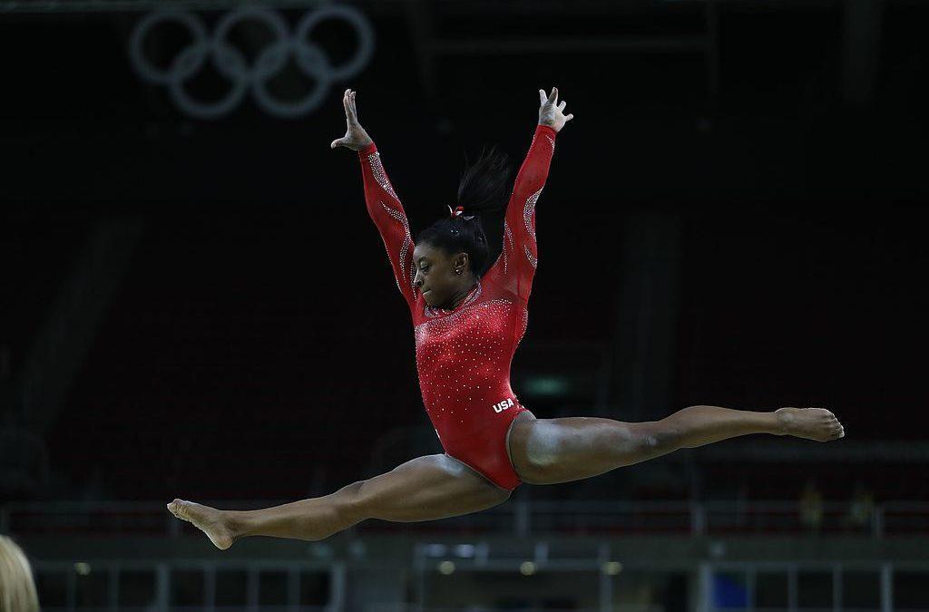 U.S. Olympic Gymnast Simone Biles