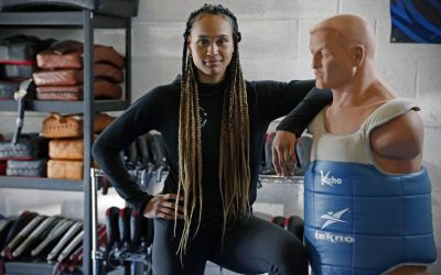 Paige McPherson Olympian Nicknamed McFierce